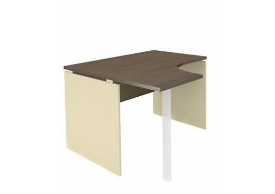 Стол интегральный, цв. венге, 120*110*75