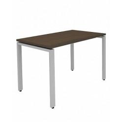 Стол на металлокаркасе, цв. венге, 120x70x75