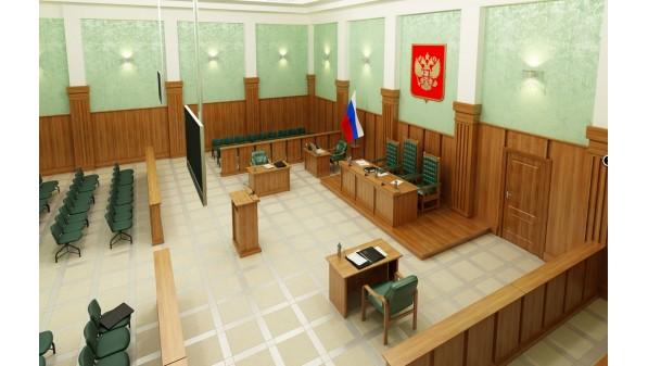 Мебель для зала суда