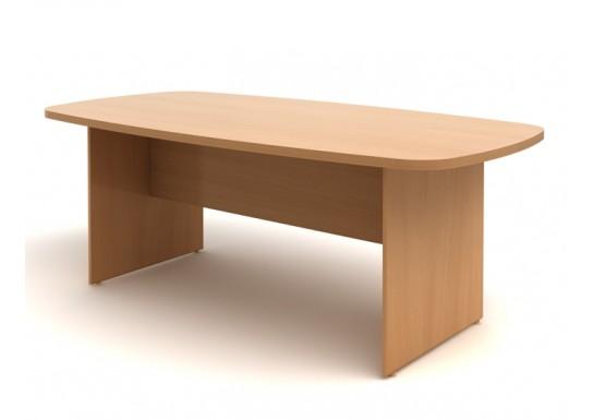 Стол переговорный, цв. бук, 2100х1070х750