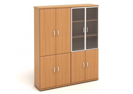 Шкаф высокий, цв. бук, 1704*424*2066