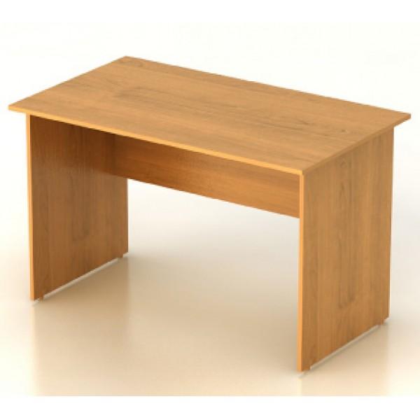 Стол офисный, цв. миланский орех, 1402х702х750, мебель фея к.
