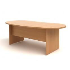 Стол руководителя, цв. бук, 2000х990х768