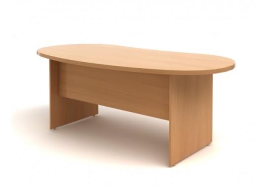 Стол руководителя, цв. бук, 1800х960х768