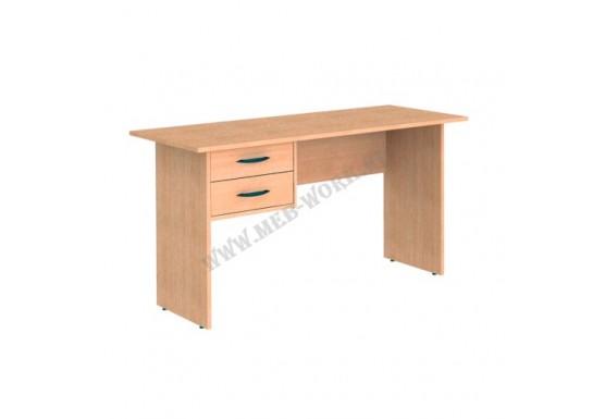 Стол письменный, цв.бук, 740Х1200Х600