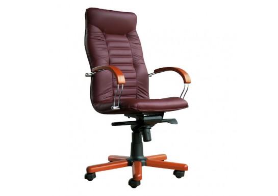 Кресло руководителя Olymous Wood Chrome