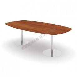 Конференц-стол на опоре, 2500х1300х750-760