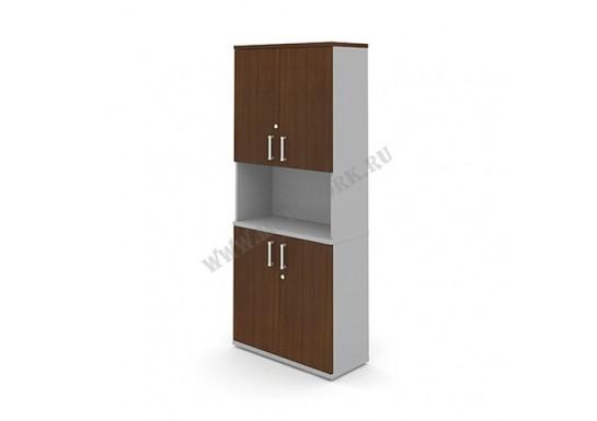Шкаф полуоткрытый с дверьми, 810х350х1900