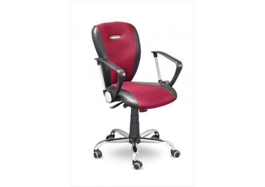 Кресло для персонала Хилтон МС-041 Хром