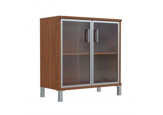 Шкаф низкий, цв. орех, 900х435х770