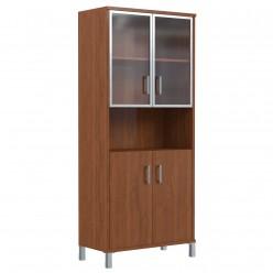 Шкаф для документов, цв. орех, 900х435х1904