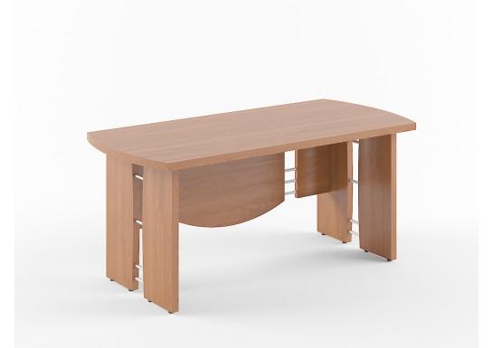 Стол руководителя, цв. венге, 1700х800х750