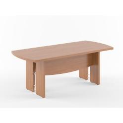 Стол переговорный, цв. орех, 2000х900х750