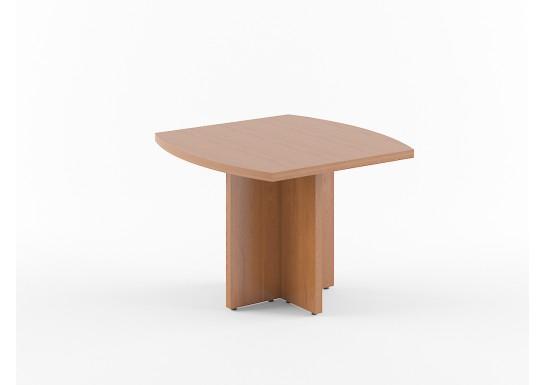 Стол переговорный, цв. орех, 1000х1000х750