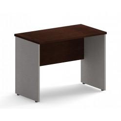 Стол приставной, цв. венге/металлик, 900х600х755
