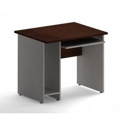 Стол компьютерный, цв. венге/металл, 900х720х755