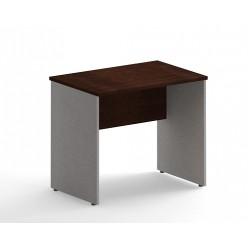 Стол письменный, цв. венге/металлик, 900х720х755