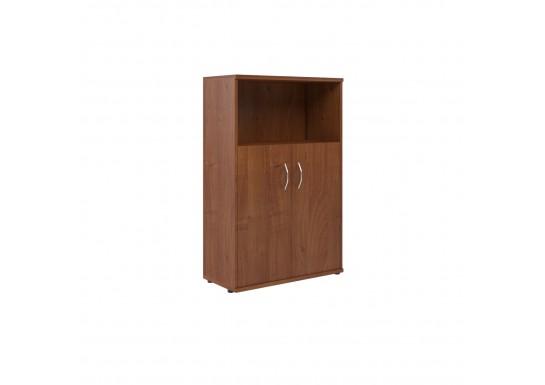 Шкаф полуоткрытый, цв. фр. орех, 770х365х1200