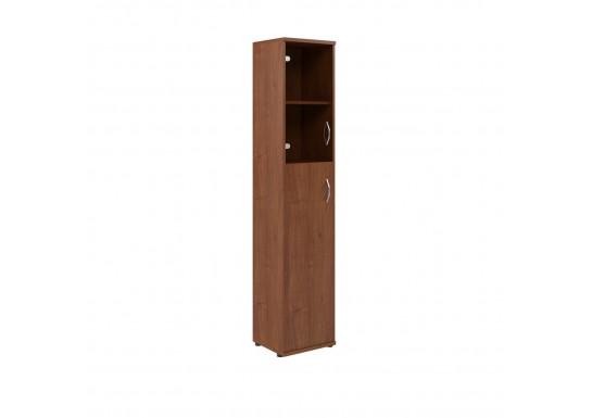 Шкаф со стеклом, цв. фр. орех, 406х365х1975