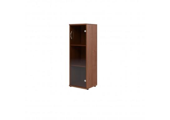 Шкаф со стеклом, цв. фр. орех, 406х365х823