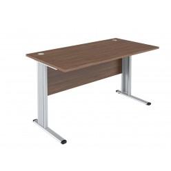 Стол письменный, цв. орех, 1400х720х755