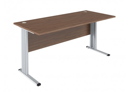 Стол письменный, цв. орех, 1600х720х755