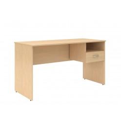 Стол с подвесной тумбой, цв. легно-светлый, 1400х600х760