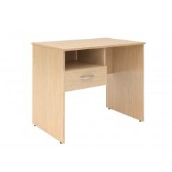 Стол с подвесным ящиком, цв. легно-светлый, 900х600х760