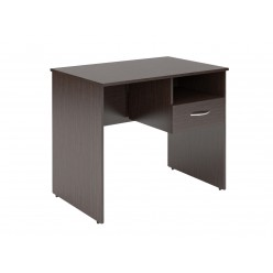 Стол с подвесным ящиком, цв. венге, 900х600х760