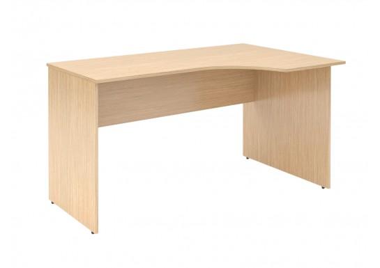 Стол эргономичный, цв. легно-светлый, 1600X900X750