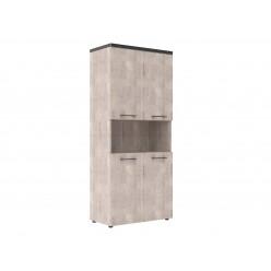 Шкаф архивный, цв. дуб, 850х430х1930