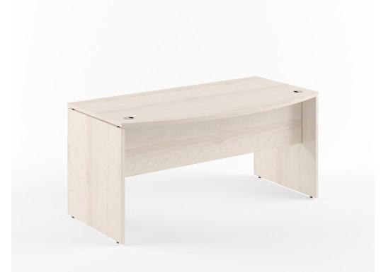 Стол руководителя, цв. береза, 1800х914х750