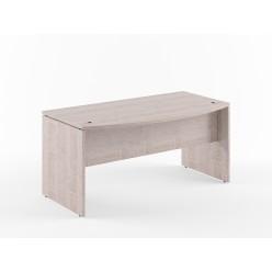 Стол руководителя, цв. дуб, 1600х867х750