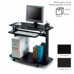Стол компьютерный SB-T1219B черный