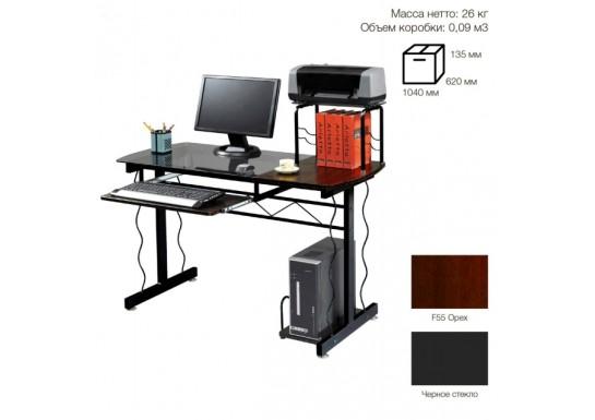 Стол для компьютера SB-T1234B черный