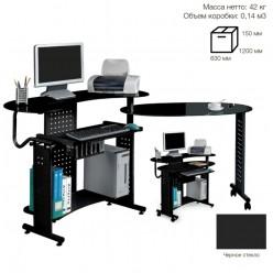 Стол компьютерный SB-T400B черный 1170*1060/890*750