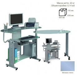 Стол компьютерный SB-T400M металлик 1000*900*500