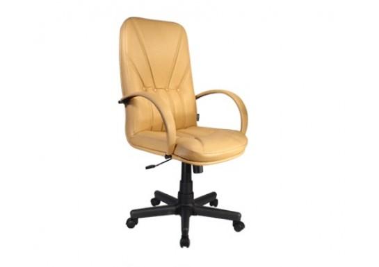 Кресло КР01.00.06Л (механизм качания с газлифтом) натуральная кожа