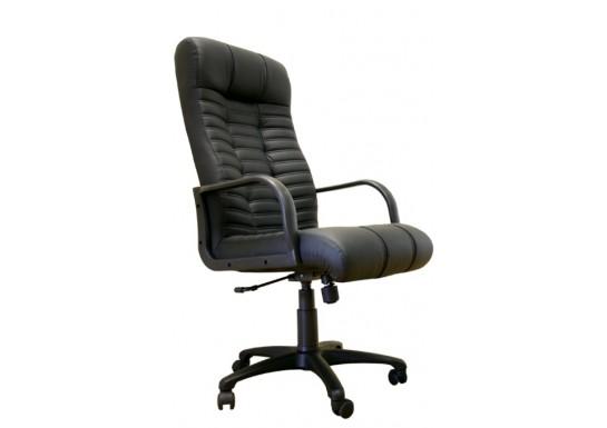 Кресло руководителя Атлант В, нат.кожа