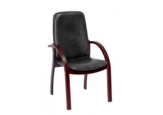 Конференц - кресло Джуно люкс нат.кожа